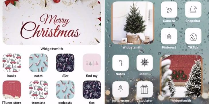 Christmas iOS 14 Home-Screen Aesthetic Ideas | POPSUGAR Tech