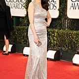 Andie MacDowell at the Golden Globes.