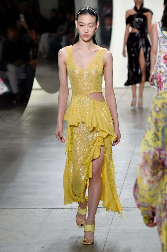 Yellow night dress 2018