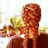 Crisscross French Braids