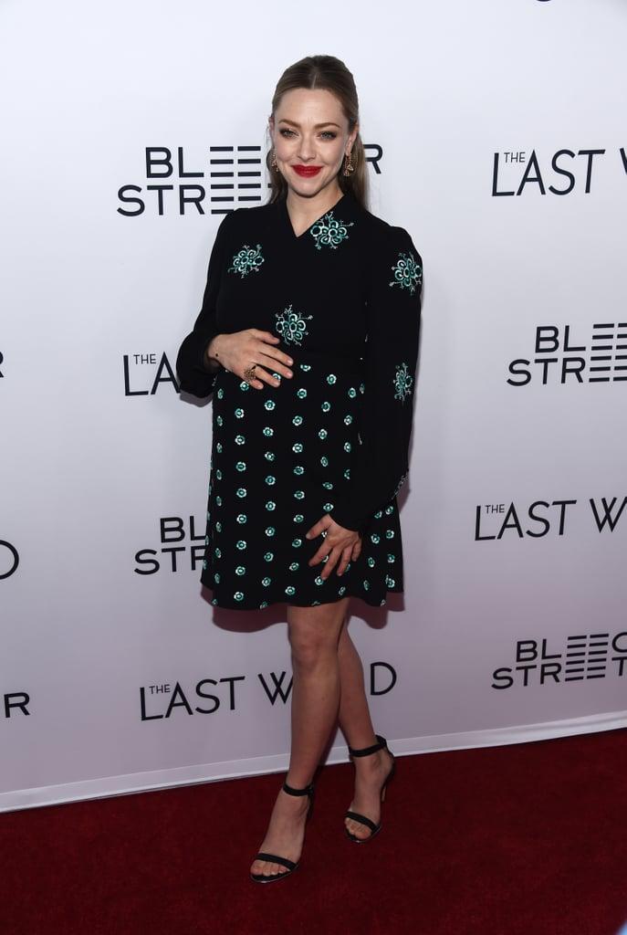 Thomas Sadoski Amanda Seyfried at The Last Word Event 2017