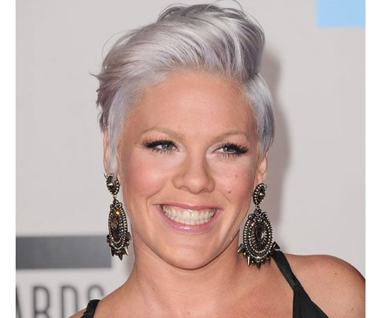 Pregnant Pink at The 2010 American Music Awards