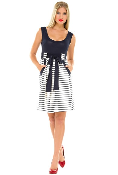16ecc7bdca7f6 Olian Gina Dress | Spend the Summer in Stripes With 14 Chic ...