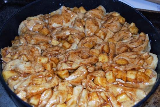 Round Apple Challah