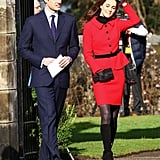 Prince William and Kate Middleton Return to St Andrews University Where They Fell in Love