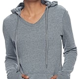Tek Gear Petite Fleece-Lined V-Neck Hoodie