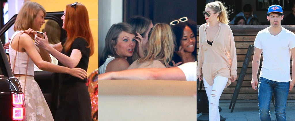 Can You Spot All of Taylor Swift's Famous Friends at This LA Lunch?