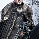 What color eyes does Jon have on Game of Thrones?