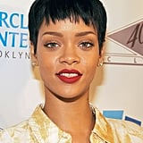 Rihanna With a Pixie Cut