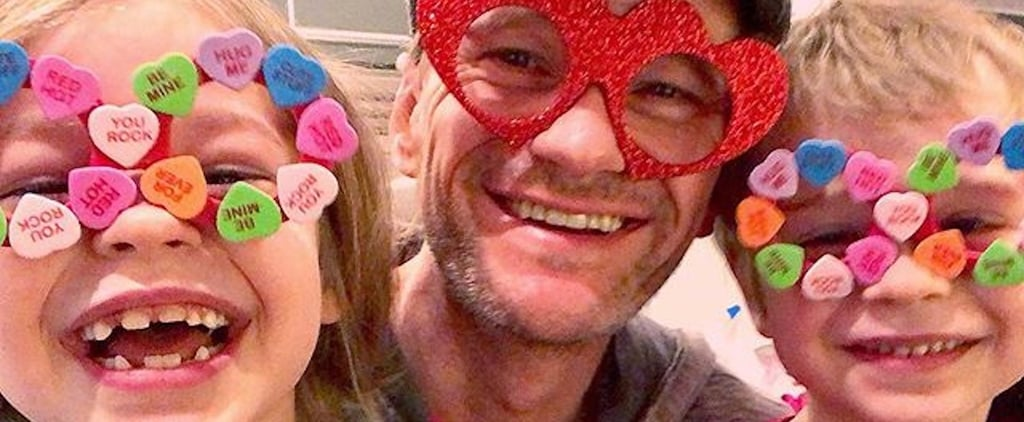 Neil Patrick Harris and His Adorable Twins Spread the Love With a Sweet Valentine's Day Snap