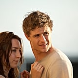 Max Irons as Jared and Saoirse Ronan as Melanie/Wanderer in The Host.  Photo courtesy of Open Road Films