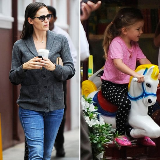 Jennifer Garner Returns to Her Routine and Kids in LA