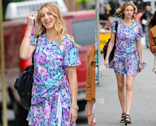Whitney Port in Blue