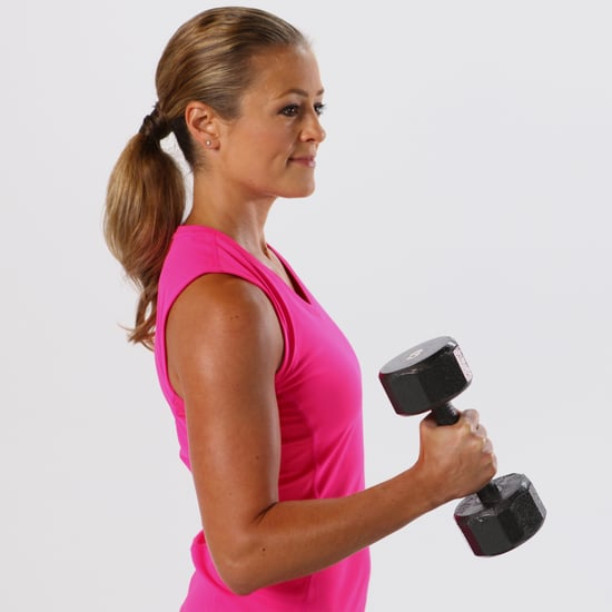 Beginner Arm Workout With Weights