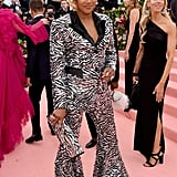 Tiffany Haddish at the 2019 Met Gala