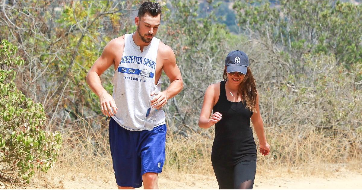 Lea Michele Goes Hiking After Glee Ends Popsugar Fitness