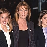 Sarah brought the girls along for the Harry Potter and the Sorcerer's Stone premiere in 2001.