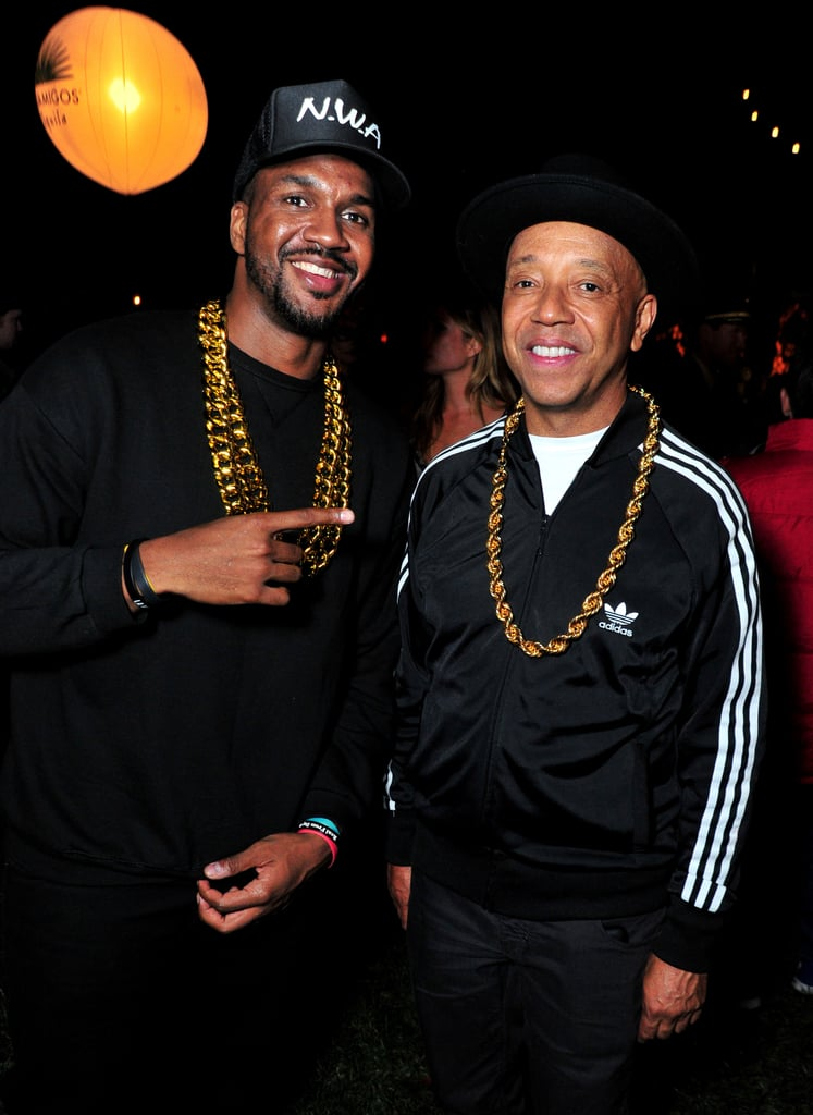 Russell Simmons and a Friend as Run–D.M.C. in 2015