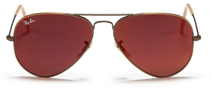 Ray-Ban Aviator Large Metal Mirror Sunglasses ($225)