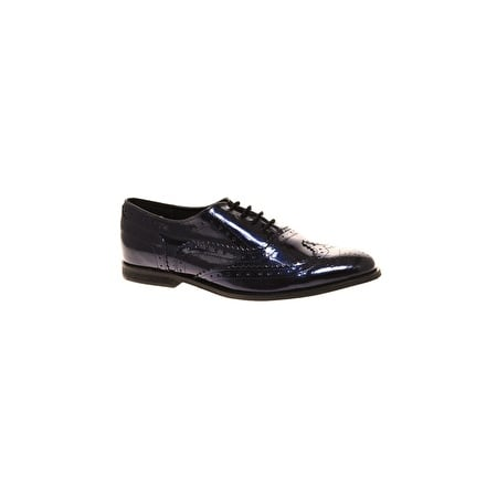 The easiest way to lend a masculine vibe to any look? Patent leather brogues. ASOS Marky Brogue (approx $52)