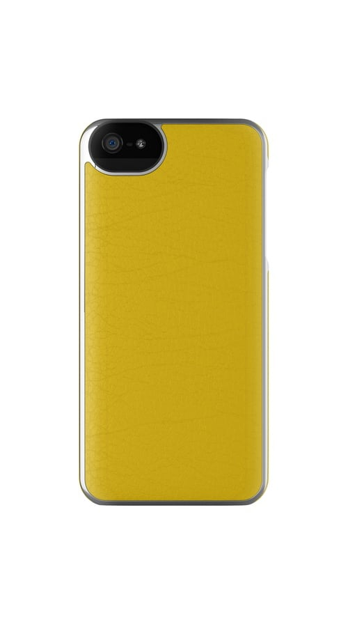 Odds are your grad has been relying on an iPhone since freshman year. Upgrade it with an Adopted leather case ($50) in a bold daffodil hue.