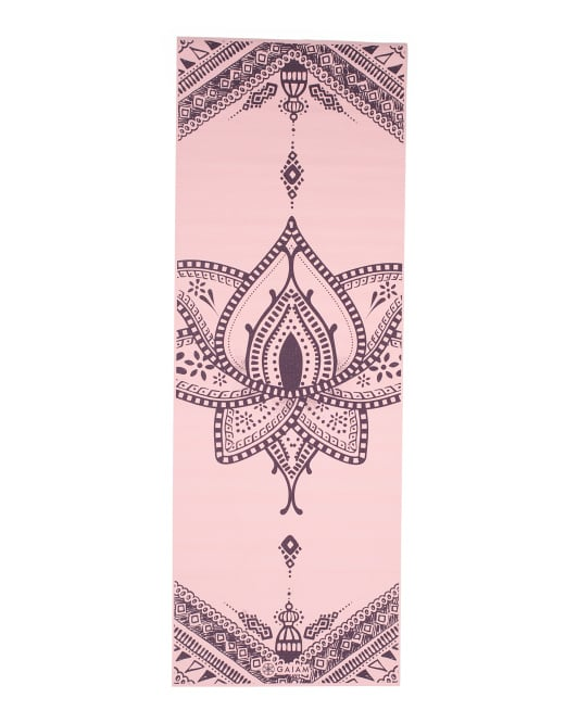 Gaiam Lotus Rose Yoga Mat 11 Yoga Mats You Ll Want To Bring To Your Next Class And They Re All Under 25 Popsugar Fitness Photo 2