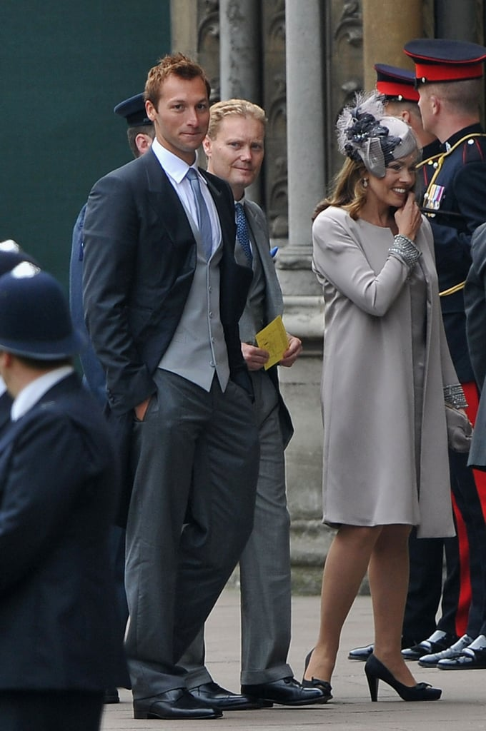 Ian Thorpe at Royal Wedding