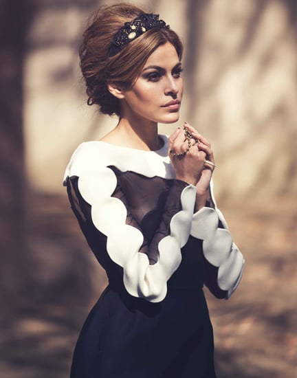 Celebrity Style: Eva Mendes Covers Net-A-Porter's The Edit
