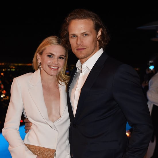 Sam Heughan and MacKenzie Mauzy Cute Pictures