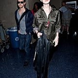 Anne Hathaway and Adam Shulman went to California.