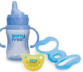 BornFree BPA Bottles and Pacifiers