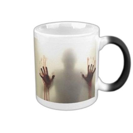Heat-Sensitive Coffee Mug