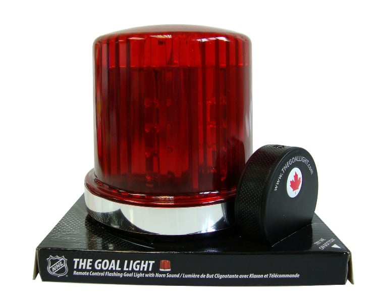 For the Hockey Fan: The Original Goal Light