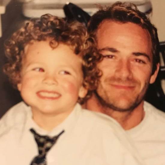 Luke Perry's Son Reacts to His Death