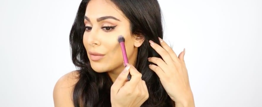 "Watch Huda Kattan Apply Her ""Melted Strobe"" 3D Highlighter in This Exclusive Video"