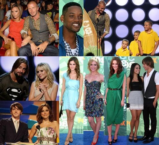 Gallery From 2008 Teen Choice Awards with David Beckham, Miley Cyrus, Jonas Brothers, Drake Bell, Blake Lively, Rachel Bilson