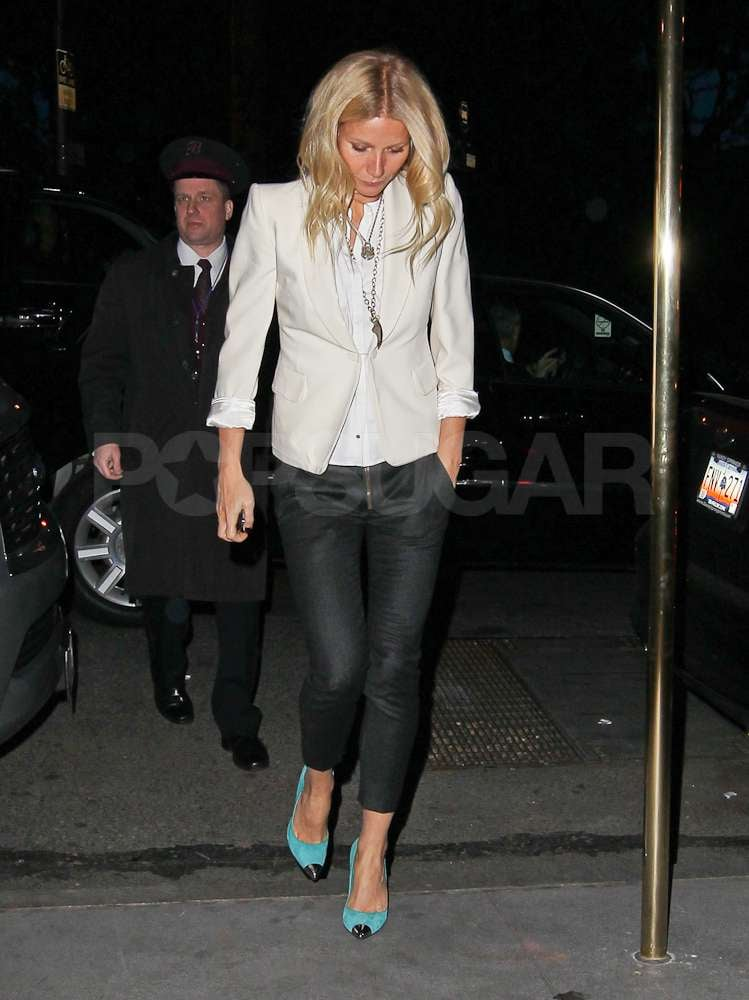 Gwyneth Paltrow stepped out in NYC.