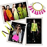 Spice up your wardrobe with a little neon color injection.