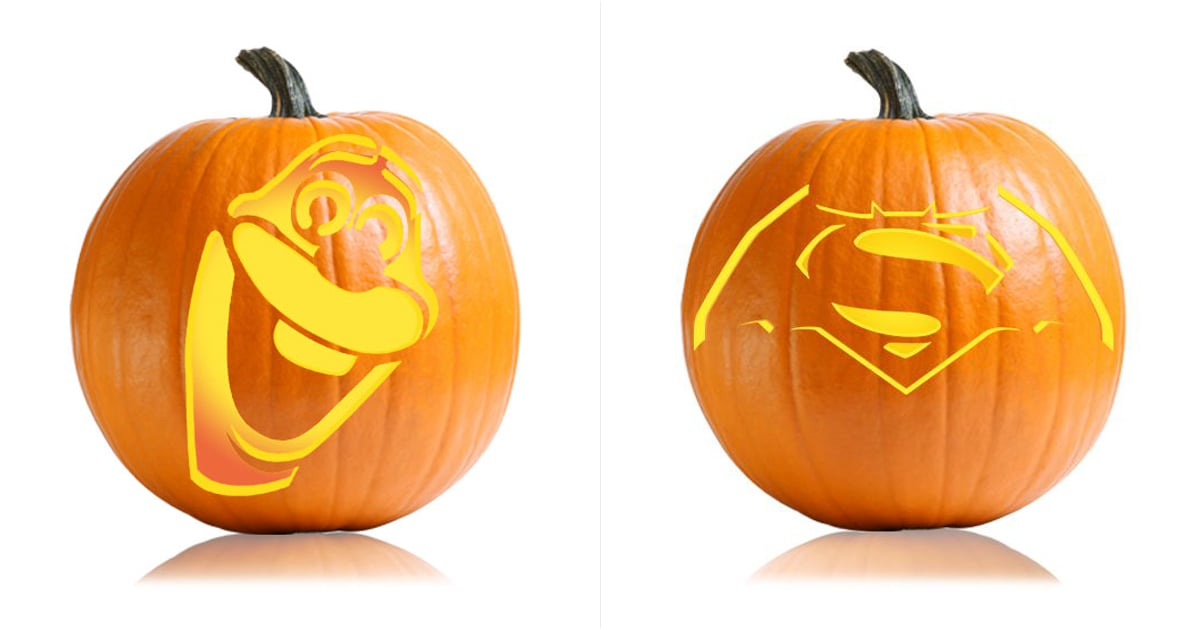 cartoon character pumpkin carving ideas for kids