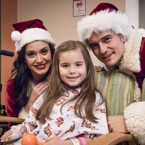 Katy Perry and Orlando Bloom at LA Children's Hospital