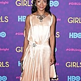 Genevieve Jones at the Girls premiere.