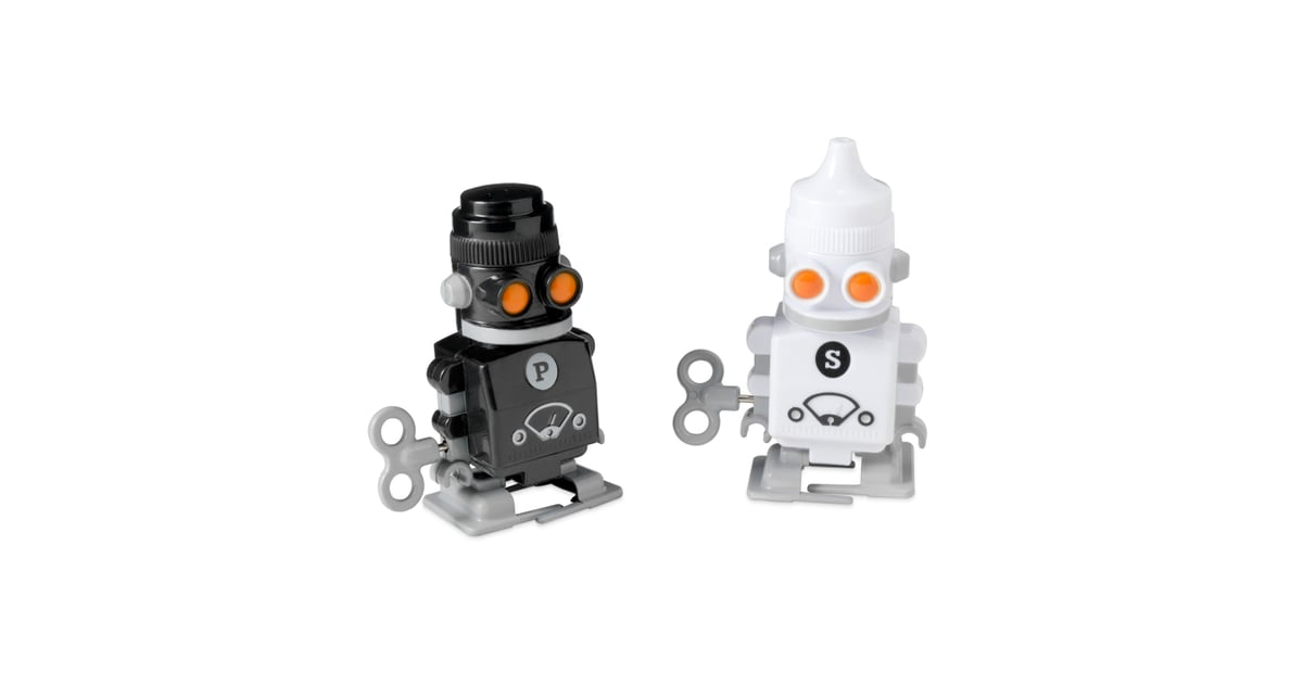 Robot salt and pepper shakers cheap christmas gifts for Salt and pepper robots