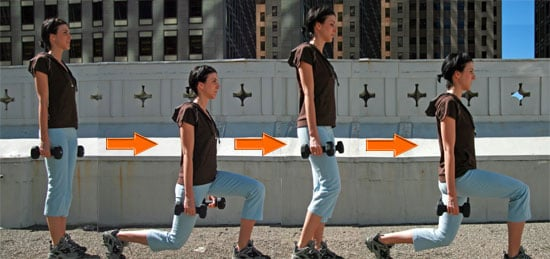Runners Need Walking Lunges in Strength Training Program
