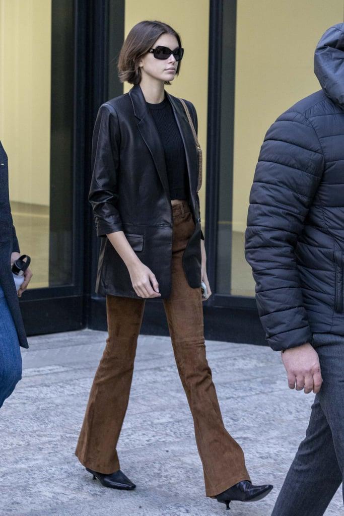Kaia Gerber at Milan Fashion Week 2020
