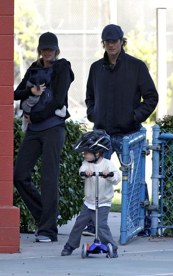 Tom Brady and Gisele Bundchen bonding at the park with the boys