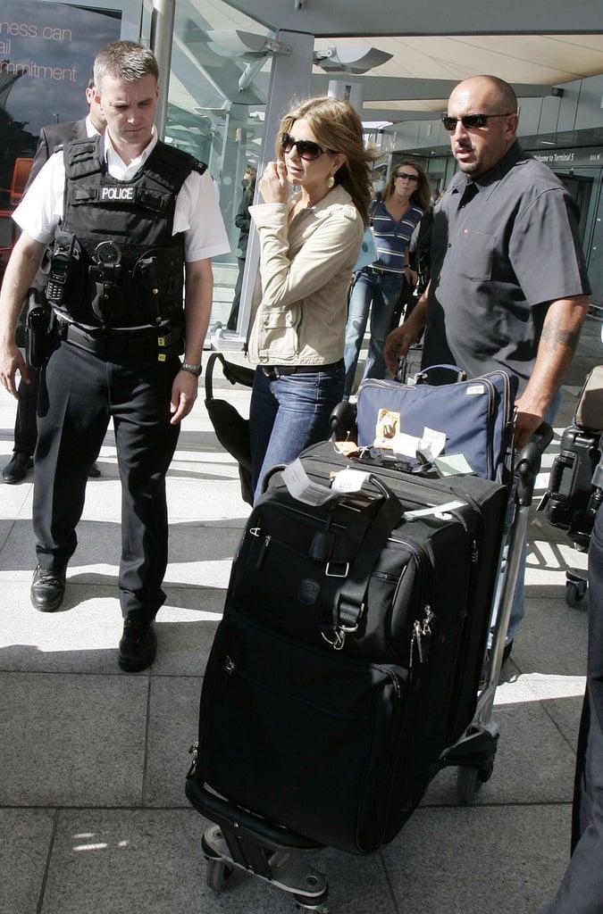 Jennifer Aniston Airport Style