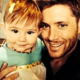 With this picture, Jensen and Danneel showed just how fast their daughter is growing up.
