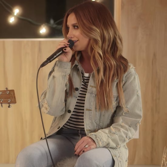"Ashley Tisdale Singing ""Shut Up and Dance"" With Her Husband"