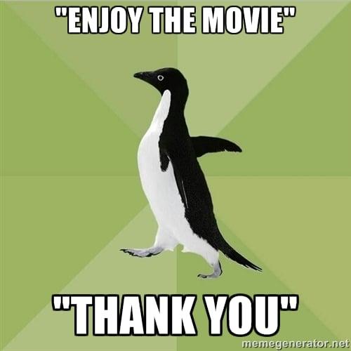 Socially Average Penguin Meme