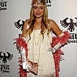 Lauren Conrad went back in time for her flapper costume in LA in 2008.